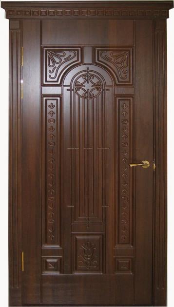 Деревянная дверь Карелия