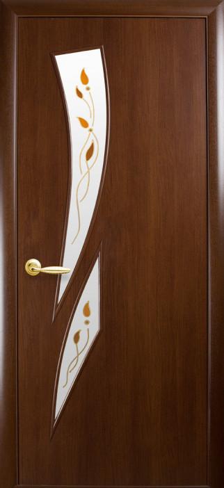 Дверь МДФ Камея +Р Орех