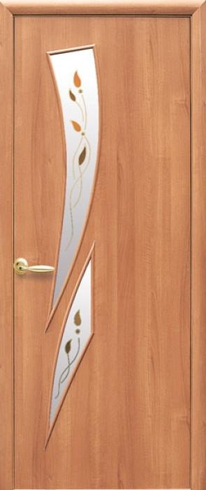 Дверь МДФ Камея +Р Ольха
